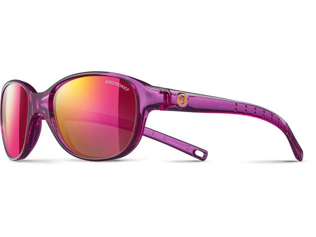 Julbo Romy Spectron 3CF Sunglasses 4-8Y Kinder translucent purple-multilayer pink